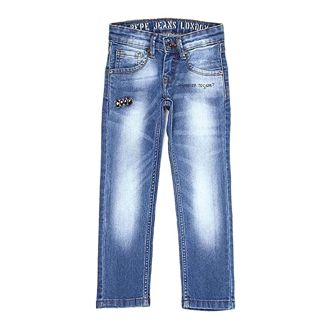 Buy Pepe Jeans Boys Blue Jeans At Amazon In
