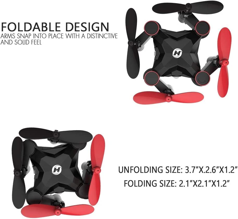 Holy stone HS190 is the best mini foldable toy drone for kids
