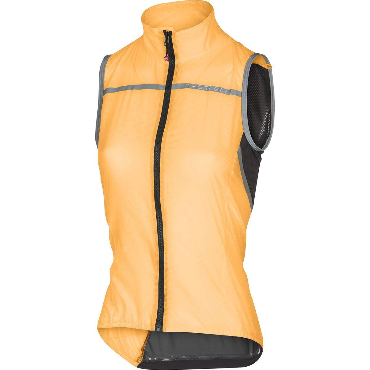 Castelli Superleggera Vest - Women's Orange, S