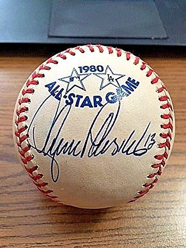 1980 Mlb All Star Game - Lance Parrish Signed Autograph 1980 All Star Game Baseball Tigers JSA Certified