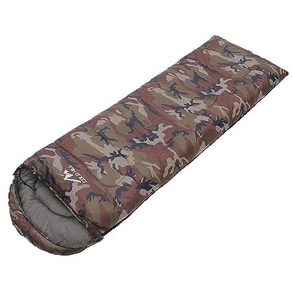 Compact Comfortable and Warm Sleep Waterproof Lightweight Envelope Sleeping Bag Adult Single 3/4 Season Sleeping Bag and Children Sleeping Bag for Outdoor Camping