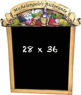 product image for Piazza Pisano Italian Restaurant Custom Chalkboard
