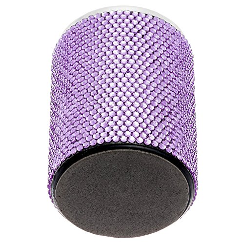Purple Crystal Rhinestone Desk Pen Holder Photo #2
