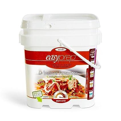 Etonnant EasyPrep Instant Favorites 1 Month Emergency Food Storage Kit (2 Bucket,  472 Total