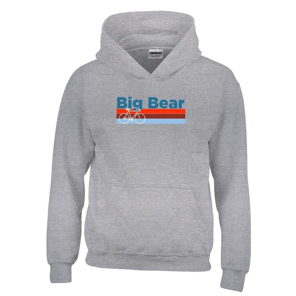 Tenn Street Goods Big Bear Retro Bike /& Mountain Bike Youth Hoodie California Kids Sweatshirt
