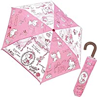 Jays planning Folding Umbrella Hello Kitty Little Lady Character Cloth 53cm 90196