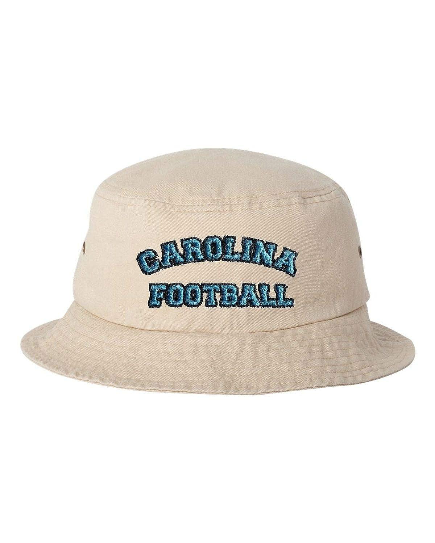 Adult Carolina Football Embroidered Bucket Cap Dad Hat