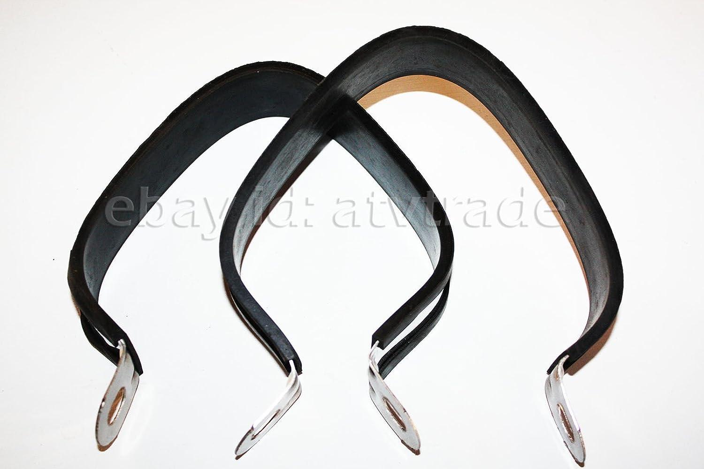 D/échappement /échappement colliers serrage Support Shin Eray 400/ST-2/Lof Chrom/é Quad ATV