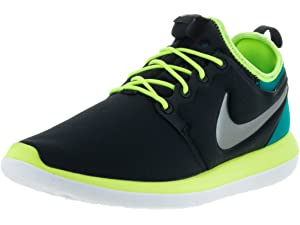f70fe568106 Amazon.com | Nike NIKE ROSHE TWO FLYKNIT (GS) girls running-shoes ...