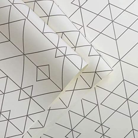Rhombus Geometric Minimalist Wallpaper