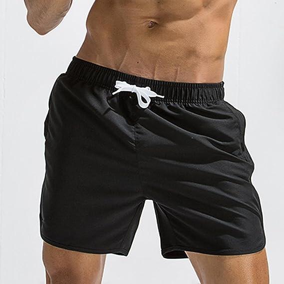 Bikini bandeau Pantalones de playa para hombres, YanHoo® Tallas grandes Pantalones transpirables Trunk Pantalones cortos de playa Pantalones cortos de playa ...
