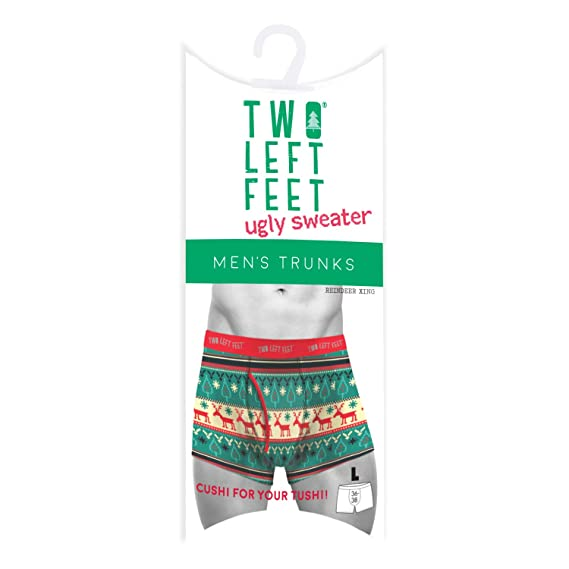 Two Left Feet Mens Trunks Small Multicolored