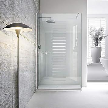Modern Leroy Timeless Milano - Mampara de ducha (8 mm, cristal ...