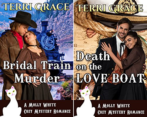 Mail Order Bride Cozy Mystery Romance (2 Book Series)
