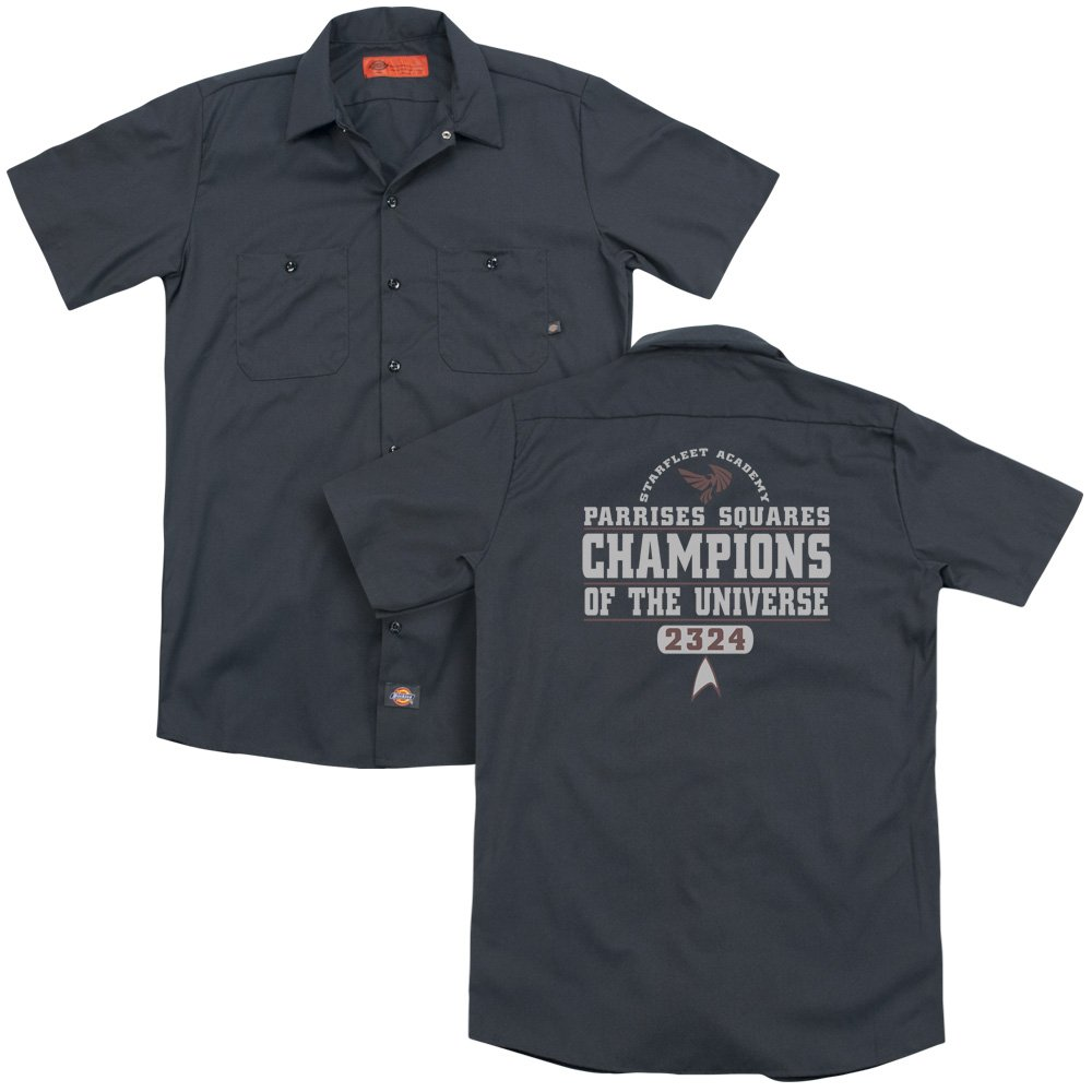 Star Trek Champions Adult Work Shirt