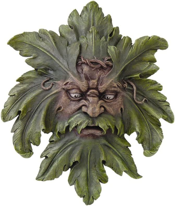 Large Celtic Green Man Wall Hanging Greenman Pagan