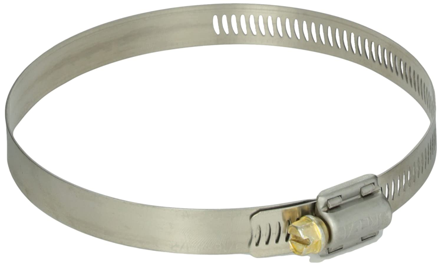1//2 Bandwidth Pack of 10 SAE Size 64 3-9//16 to 4-1//2 Diameter Range 1//2 Bandwidth NOSLP 62064 64-BW 3-9//16 to 4-1//2 Diameter Range Pack of 10 Breeze Power-Seal Stainless Steel Hose Clamp Worm-Drive