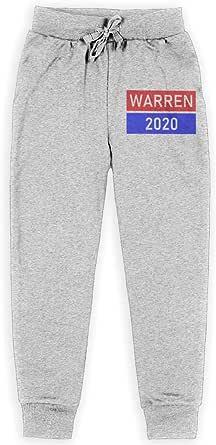 Yuanmeiju Warren 2020 Support Logo Boys Pantalones Deportivos,Pantalones Deportivos for Teens Boys Girls