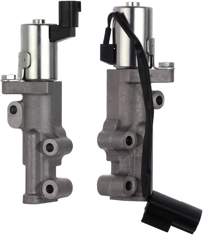 US Stock,Fast Shipping,ROADFAR ROADFAR Intake Exhaust Variable Valve Actuator Timing Solenoids Compatible for Infiniti QX4 Pathfinder