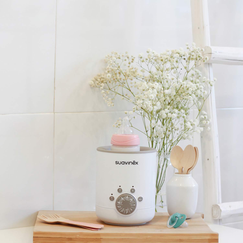 Suavinex - Calienta Biberones Link 3en1 (leche materna, Fórmula y ...