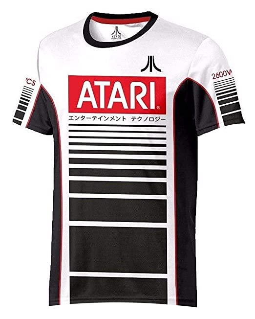 Atari - Racer Esports - Oficial para Hombre Camiseta de Fútbol ...