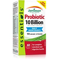 Jamieson Essentials 10 billion Probiotic, 60 Count