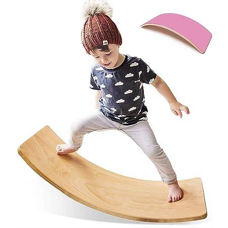 GRASSAIR Tabla de Yoga para niños Curvy Board Balance de ...