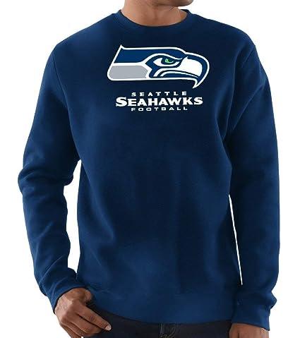 Seattle Seahawks Navy Long Sleeve Critical Victory Big   Tall T-Shirt 2XL  Tall 4bb49d2a5