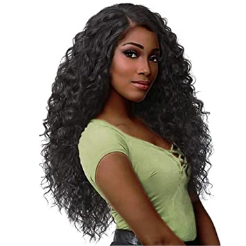 Amazon Com Highpot Brazilian Kinky Curly Human Hair Wigs For Black
