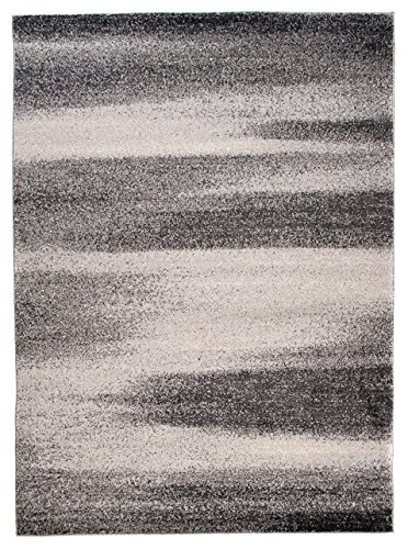 Grey Silver Rug Modern Soft Dense Pile Scandinavian New Design  NORDIC  80 x 150 cm ( 2ft7 x 4ft11 ) Small Carpeto