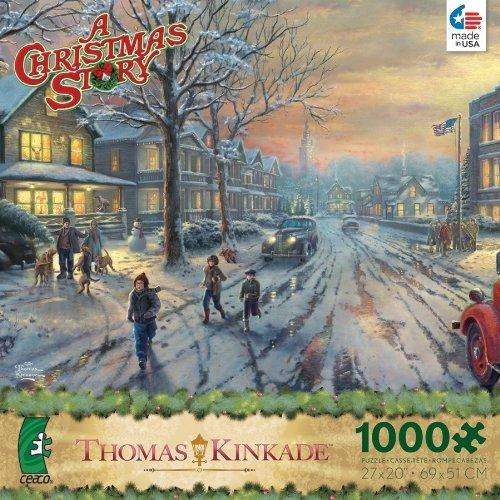 Thomas Kinkade A Christmas Story 1000 Piece Puzzle