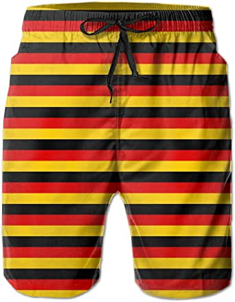STDKNSK9 Men's German Flag Boardshorts Swim Trunks