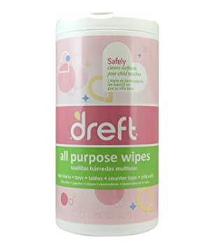 Dreft All Purpose Multi Surface Wipes, 70 Count by Dreft: Amazon.es: Salud y cuidado personal