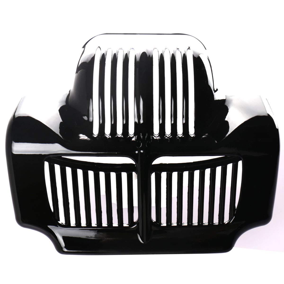 Gloss Black Stock Oil Cooler Cover For Harley 2011-2015 Touring Street Glide FLHX