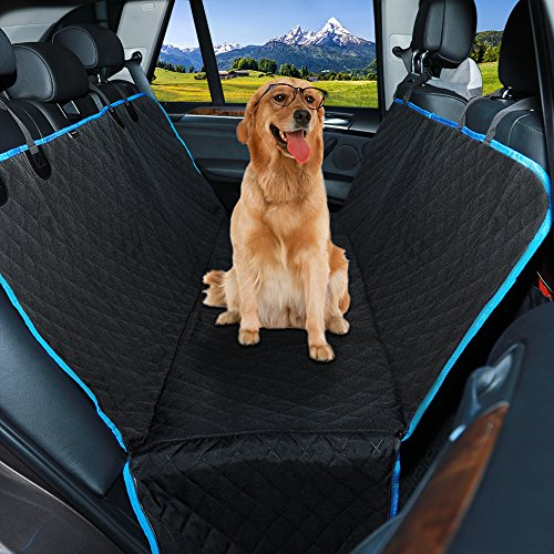 Dog Seat Cover Car Seat Cover,QIMH Waterproof Car Seat Cover for dog/cat,Non-Slip,Scratch Proof and Durable Dog Car Seat Hammock backseat Pets Covers for Cars Trucks and SUVs