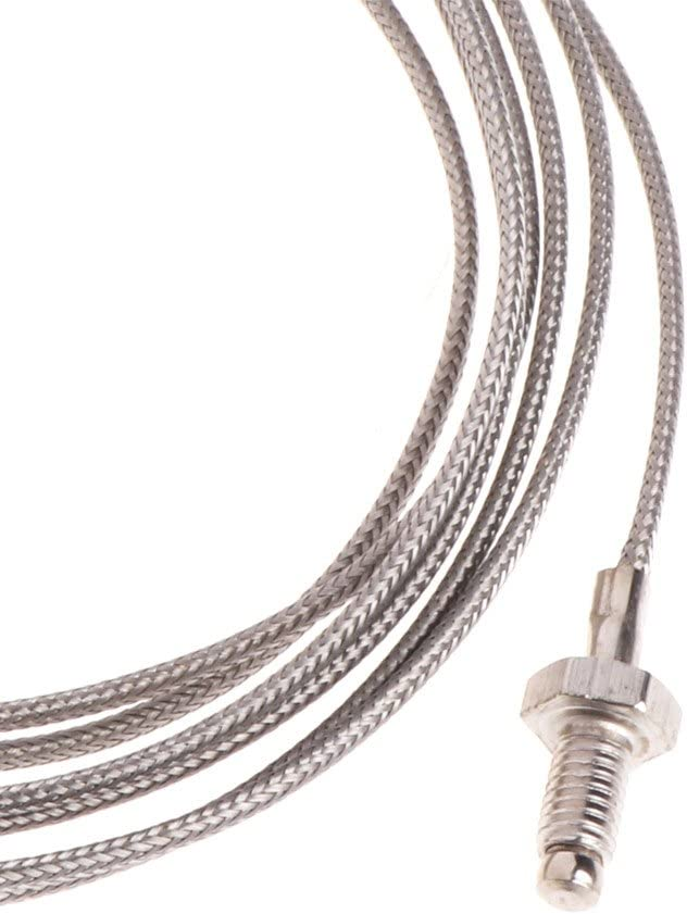 Chuiouy Temperature Sensor with 2M Cable M6 Screw Probe Thermocouple Wire