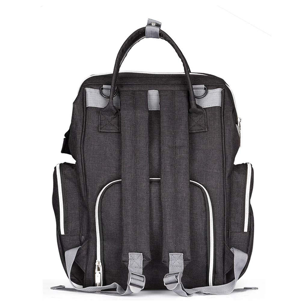 Gogoodgo Women Backpack Purse Waterproof Large Travel Bag Ladies Shoulder Bags Handbag Black by Gogoodgo bags (Image #3)