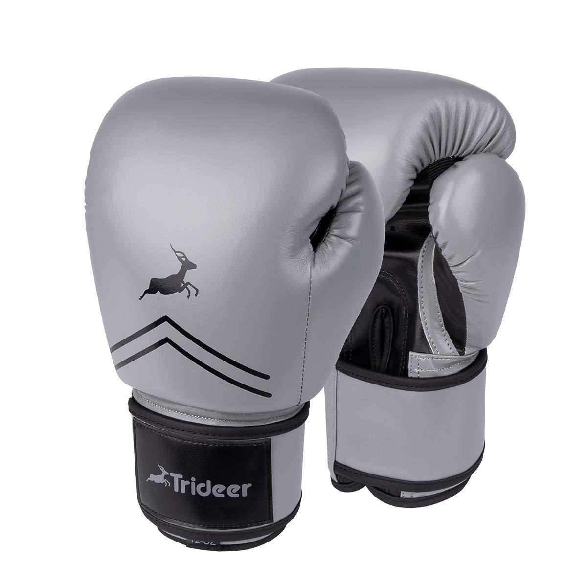 Trideer Pro Grade Boxing Gloves, Kickboxing Bagwork