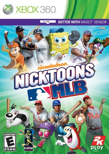 Nicktoons MLB - Xbox 360 (Spongebob Video Games Xbox)