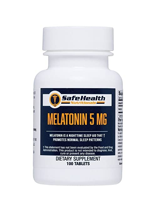 Amazon.com: Safe Health Nutritionals Melatonin 5mg Tablet: Health & Personal Care