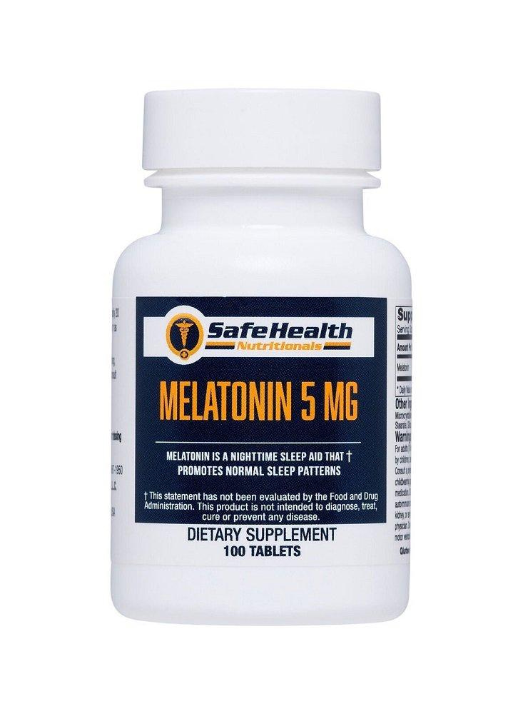 Safe Health Nutritionals Melatonin 5mg Tablet by Safe Health Nutritionals (Image #1)