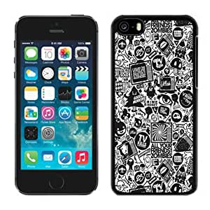 NEW Unique Custom Designed iPhone 5C Phone Case With Villain Characters Cartoon_Black Phone Case wangjiang maoyi