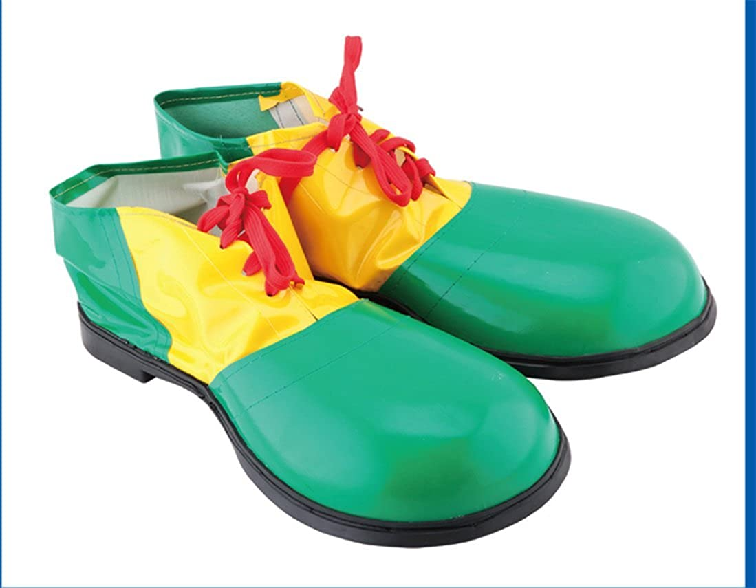 bogddycos EcommerceグリーンClown Shoes Hallowmaコスチューム布クリスマス美しいカラフルなコスプレ人気Love Dance   B07CWK47KQ