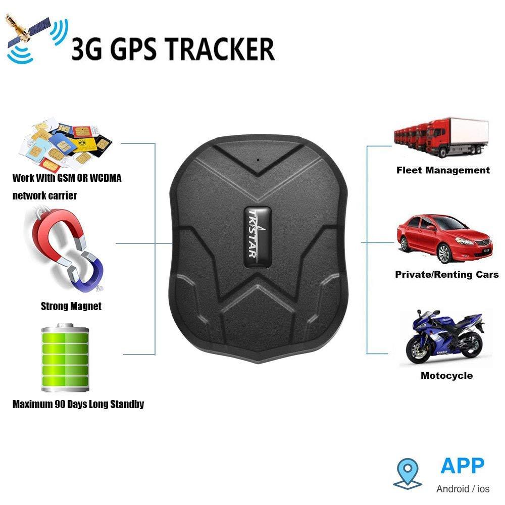 Rastreador GPS en Tiempo Real 3G, Vehículos a Prueba de Agua ...