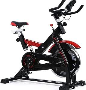 MxZas Tranquila Bicicleta de Spinning aparatos de Ejercicios Pedal ...