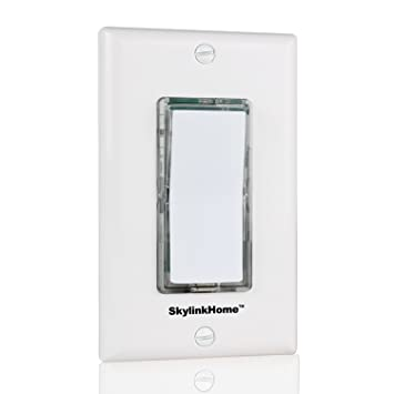 Skylinkhome tb 318 wireless stick on or wall mounted battery skylinkhome tb 318 wireless stick on or wall mounted battery operated anywhere wall light aloadofball Image collections