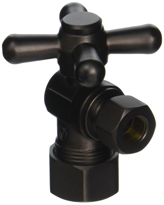 Jaclo 621-ORB 5/8'' OD x 3/8'' OD Angle Valve, Oil Rubbed Bronze