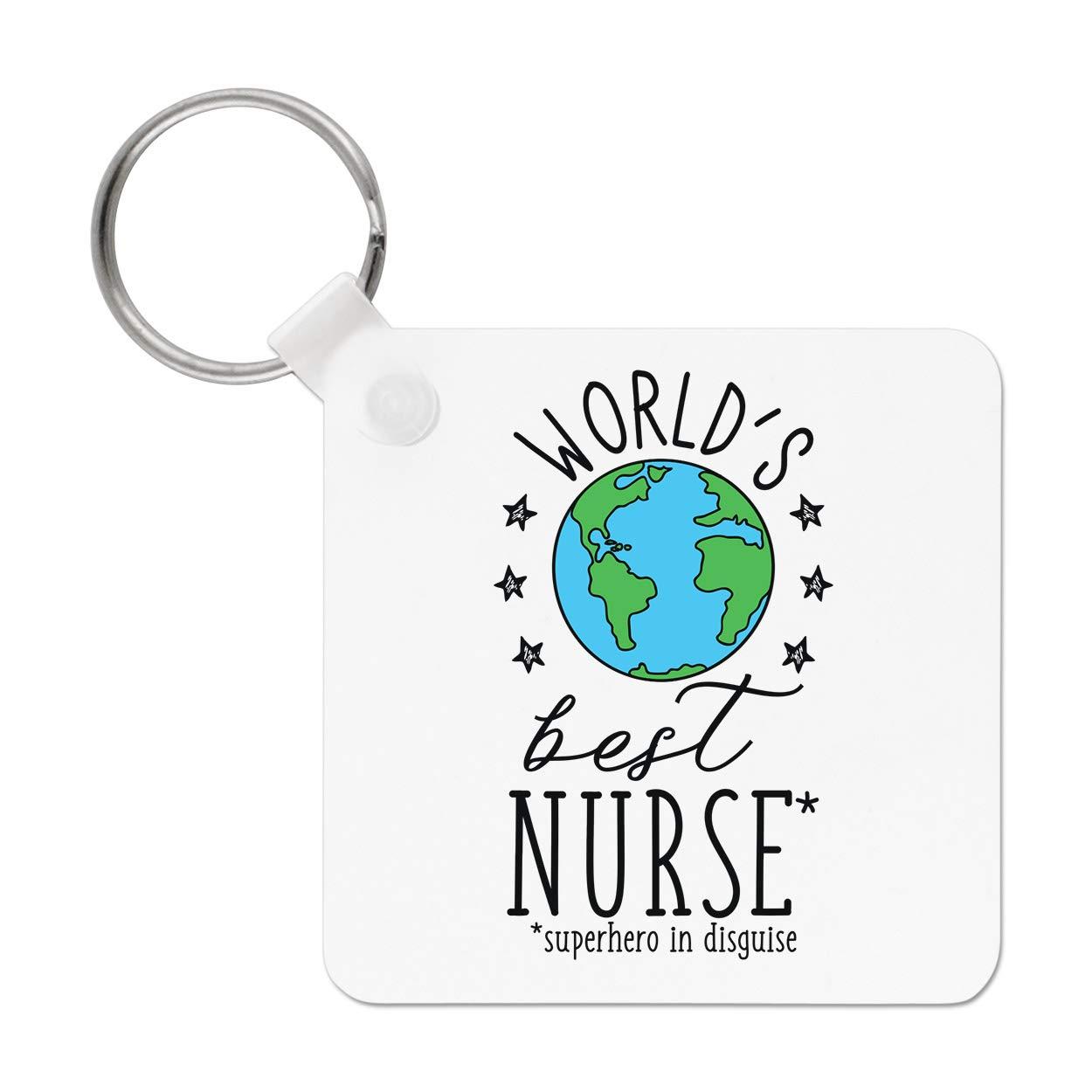 Gift Base Worlds Mejor Nurse Llavero: Amazon.es: Amazon.es