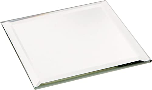 Plymor Square 3mm Beveled Glass Mirror, 3 inch x 3 inch Pack of 144