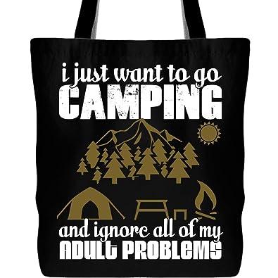 Amazon.com: I Just Want To Go Bolsa de camping con correa de ...